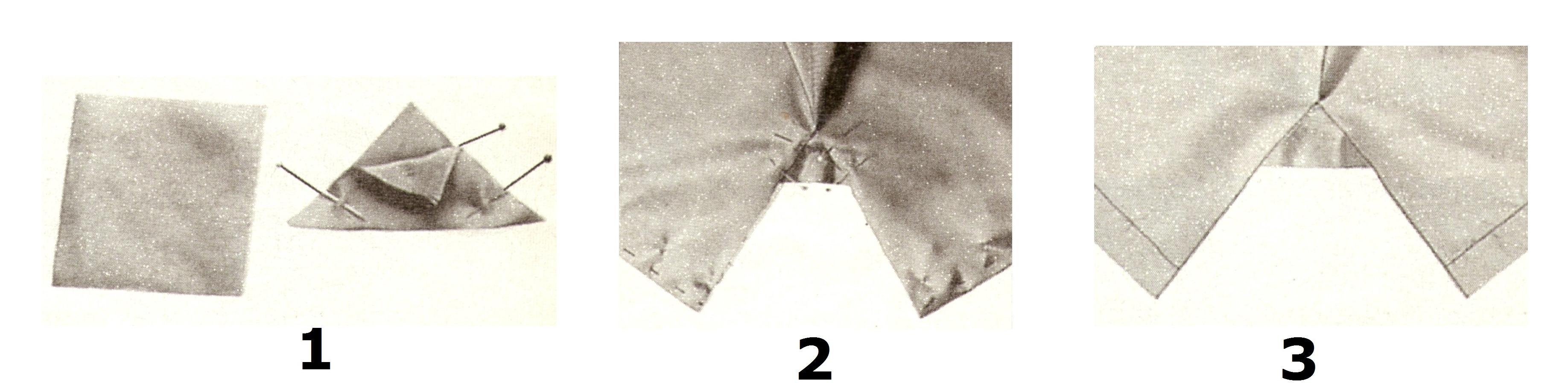 Разрез на подкладке