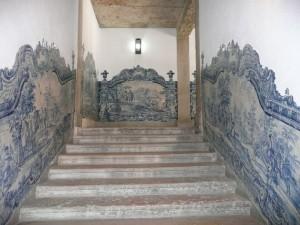 Лестница  с азулежуш