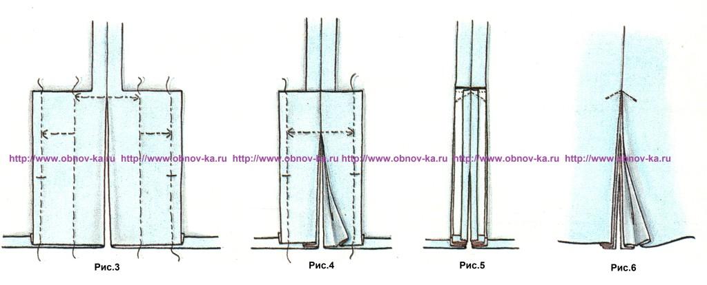 Складка с плиссировкой 2