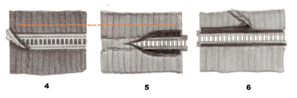Тесьма с мережкой (4-6)