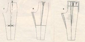 Коррекция брюк 7-9